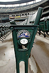 10 September 2006: Typical seating motif at Coors Field, home of the Colorado Rockies, in Denver, Colorado...Mandatory Photo Credit: Ed Wolfstein.