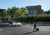 Business district, Santa Fe, Mexico City