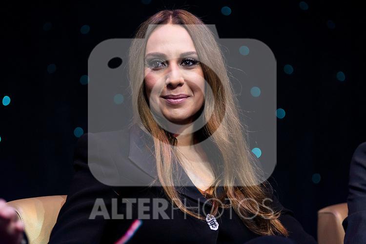 "Monica Naranjo during the presentation of the new TV program of Antena 3, ""Tu cara no me suena"" at  Teatro Gran Maestre in Madrid. March 08, 2017. (ALTERPHOTOS/Borja B.Hojas)"