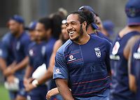 Agnatuis Paasi.<br /> Vodafone Warriors training session. NRL Rugby League. Mt Smart Stadium, Auckland, New Zealand. Thursday 8 February 2018 &copy; Copyright Photo: Andrew Cornaga / www.photosport.nz