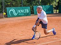 Etten-Leur, The Netherlands, August 27, 2017,  TC Etten, NVK, Men's doubles: Rolf Thung <br /> Photo: Tennisimages/Henk Koster