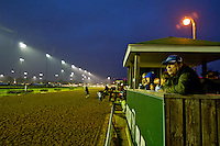 Scenes from the backside at Churchill Downs as Kentucky Derby preparations continue on April 29, 2013.