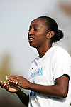 UNC's Robyn Gayle on Sunday, November 6th, 2005 at SAS Stadium in Cary, North Carolina. The University of North Carolina Tarheels defeated the Virginia Cavaliers 4-1 in the Championship Game of the Atlantic Coast Conference Women's Soccer Tournament.