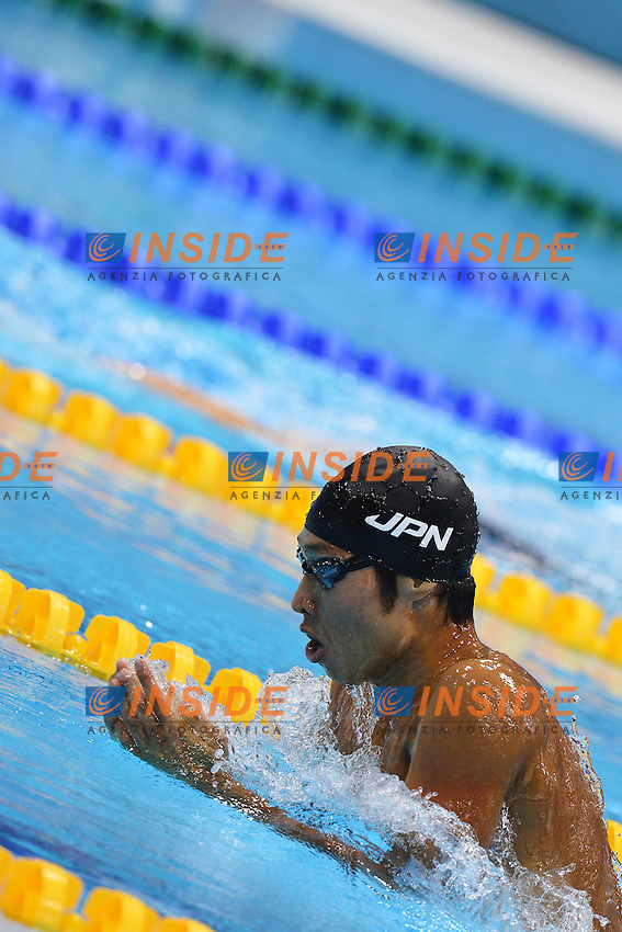 Kosuge Hagino Japan Men's 400m individual Medley.London 28/7/2012 Aquatics Centre.London 2012 Olympic games - Olimpiadi Londra 2012.Swimming - Nuoto.Foto Andrea Staccioli Insidefoto