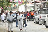 Temixco, Morelos. 2 de enero de 2016.- Esta ma&ntilde;ana fue asesinada en el interior de su domicilio la presidenta municipal de Temixco Gisela Mota Ocampo, quien apenas ayer por la tarde tomara protesta al cargo. <br /> <br /> Presuntamente fue ejecutada por un comando armado por al menos 20 disparos. <br /> <br /> Fotos: No&eacute; Knapp/Obture
