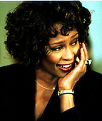 Whitney Houston appears at a Capitol Hill press confrence on October 1, 1997 in Washington, D.C. announcing her benefit concert at DAR Constitution Hall on October 5, 1997 for the Children's Defense Fund..Credit: Ron Sachs / CNP
