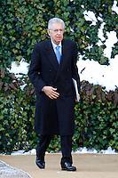 Mario Monti.Roma 13/02/2012 Ville Madama. Incontro tra il Premier Italiano ed il Presidente della Repubblica Federale Tedesca..The Italian Premier meets the President of the Federal Republic of Germany.Photo Samantha Zucchi Insidefoto