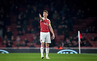Laurent Koscielny of Arsenal during the UEFA Europa League match between Arsenal and Qarabag FK at the Emirates Stadium, London, England on 13 December 2018. Photo by Andy Rowland.