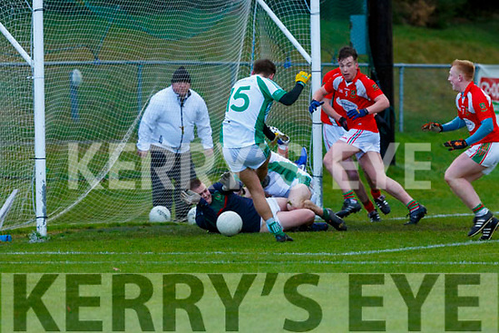 Dara Devine Na Gaeil scores Na Gaeil first goal against Mullinahone in the Munster Junior Championship final on Sunday