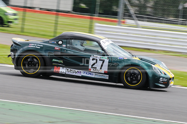 Mark Dean/Martin Scarfe - Castle Goring Racing Lotus Elise