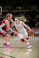 STANFORD, CA - February  10, 2011: Stanford Cardinal's Lindy La Rocque  during the Stanford vs Washington State game at Maples Pavilion in Stanford, California.