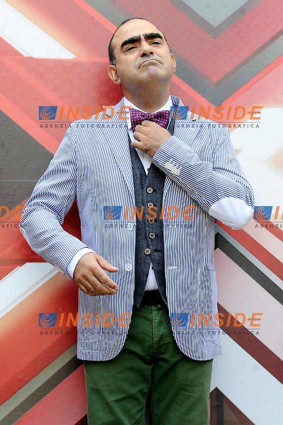 Elio Stefano Belisari <br /> Milano 24/09/2013 - photocall trasmissione tv 'X Factor' / foto Andrea Ninni/Image/Insidefoto