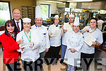 Learners from the National Learning Network in Clash bronze at the Chef Ireland competition in Dublin, on Tuesday (February 6). Pictured were: Fiona Keogh (Manager), Imelda O'Reilly, Cllr Jim Finucane and Tom Hardiman (Catering Instructor), with Carrie Ann O'Connor, Craig Coady, Helen Egan (Catering Instructor, and Liam O'Brien.