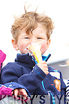 Enjoying HB Ice Cream party at  the Ballyheigue Summer Festival week on Monday was Evan Keane