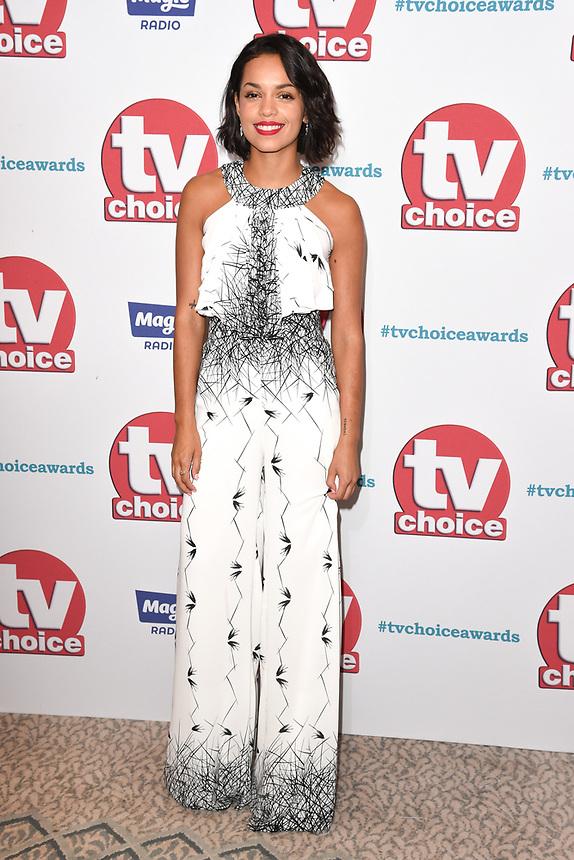 Georgina Campbell<br /> arriving for the TV Choice Awards 2017 at The Dorchester Hotel, London. <br /> <br /> <br /> ©Ash Knotek  D3303  04/09/2017