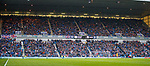 07.04.2018 Rangers v Dundee:<br /> Rangers fans applause on 44th minute