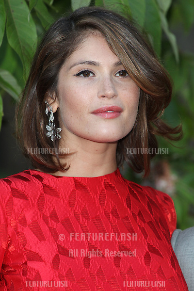 Gemma Arterton arriving for the Serpentine Summer Party, at the Serpentine Gallery, Hyde Park, London. 01/07/2014 Picture by: Alexandra Glen / Featureflash