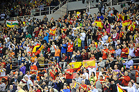 21.01.2013 World Championshio Handball. Match between Spain vs Serbia (31-20) at the stadium Principe Felipe. The picture show.