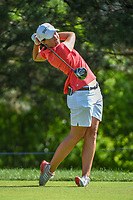 Carlota Ciganda (ESP) watches her tee shot on 2 during round 4 of the 2018 KPMG Women's PGA Championship, Kemper Lakes Golf Club, at Kildeer, Illinois, USA. 7/1/2018.<br /> Picture: Golffile | Ken Murray<br /> <br /> All photo usage must carry mandatory copyright credit (&copy; Golffile | Ken Murray)