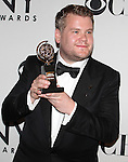 James Corden pictured at the 66th Annual Tony Awards held at The Beacon Theatre in New York City , New York on June 10, 2012. © Walter McBride / WM Photography