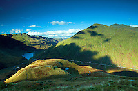Beinn Luibhean and Loch Restil from Ben Donich, the Arrochar Alps, Loch Lomond and the Trossachs National Park, Argyll & Bute