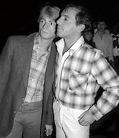 Mark Benecke and Steve Rubell at Studio 54 1978<br /> Photo By Adam Scull/PHOTOlink/MediaPunch