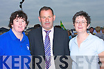DELIGHTED: Martina Griffin, Pat O'Connor and Breda Dyland at the official opening of Pa?irc Ui? Ealaithe, Ballyrichard, Tralee on Saturday..   Copyright Kerry's Eye 2008