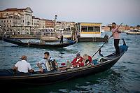 Turisti in gondola