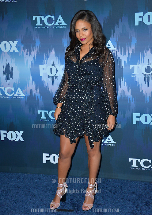 Sanaa Lathan at the Fox Winter TCA 2017 All-Star Party at the Langham Huntington Hotel, Pasadena, USA 11th January  2017<br /> Picture: Paul Smith/Featureflash/SilverHub 0208 004 5359 sales@silverhubmedia.com