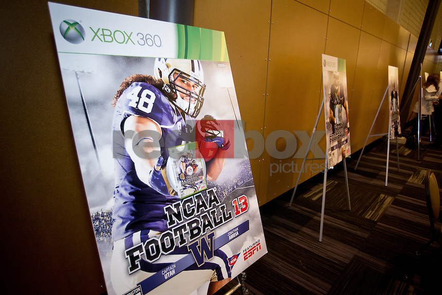 2012 University of Washington football team banquet at Alaska Airlines Arena. (Photo by Scott Eklund /Red Box Pictures)