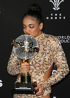 """Los Angeles, CA - NOVEMBER 22: Laurie Hernandez, At ABC's """"Dancing With The Stars"""" Season 23 Finale At The Grove, California on November 22, 2016. Credit: Faye Sadou/MediaPunch"""