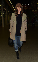 Keira Knightley is spotted arriving at London's St. Pancras International station after taking the Eurostar from Paris<br /> <br /> JANUARY 10th 2019. Credit: Matrix/MediaPunch ***FOR USA ONLY***<br /> <br /> REF: LTN 19105