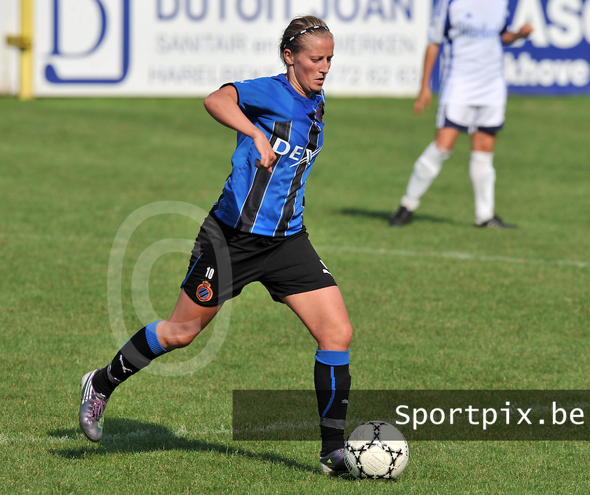 Club Brugge Dames : Marijke Callebaut.Foto DAVID CATRY / Vrouwenteam.be