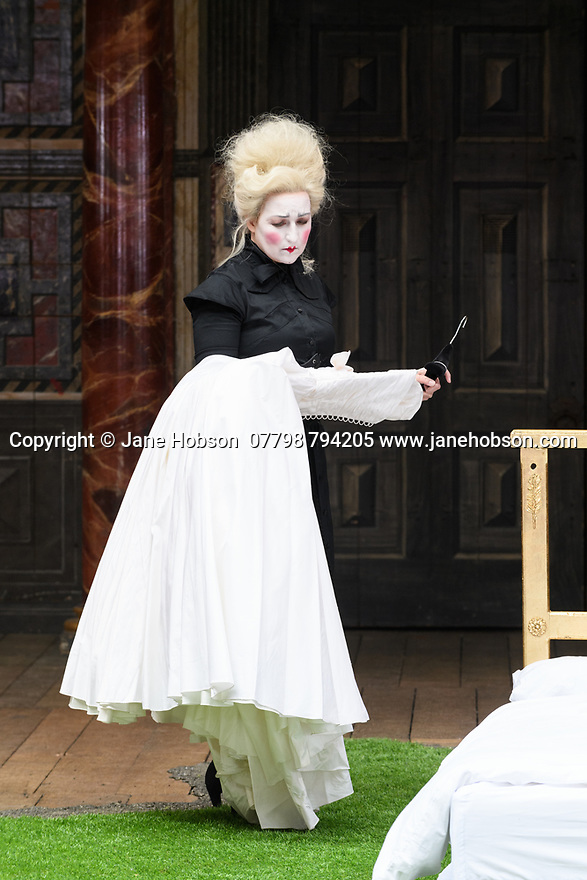 "Shakespeare's Globe presents ROMEO AND JULIET, by WIlliam Shakespeare, directed by Daniel Kramer, as part of Emma Rice's ""Summer of Love"" season. Picture shows: Blythe Duff (Nurse)"