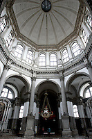 Veduta interna della Basilica di Santa Maria della Salute, a Venezia.<br /> Interior view of the Basilica Santa Maria della Salute (St. Mary of Health) in Venice.<br /> UPDATE IMAGES PRESS/Riccardo De Luca