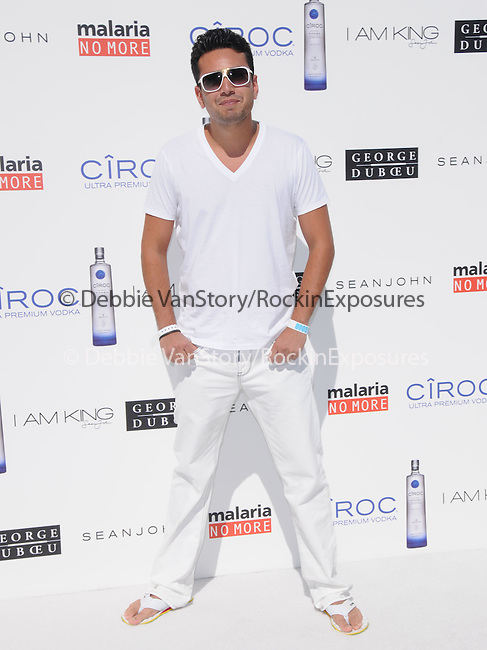 Frankie Delgado at The White Party presented by P-Diddy ,Ashton Kutcher & Malaria No More held at  private Estate in Cold Water Canyon, California on July 04,2009                                                                   Copyright 2009 Debbie VanStory / RockinExposures
