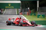 31.08.2018, Autodromo di Monza, Monza, FORMULA 1 GRAN PREMIO HEINEKEN D'ITALIA 2018<br />,im Bild<br />Sebastian Vettel (GER#5), Scuderia Ferrari<br /> <br /> Foto &copy; nordphoto / Bratic
