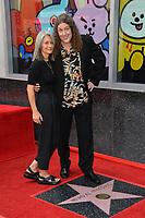 LOS ANGELES, CA. August 27, 2018: Weird Al Yankovic & Suzanne Krajewski Yankovic at the Hollywood Walk of Fame Star Ceremony honoring 'Weird Al' Yankovic.
