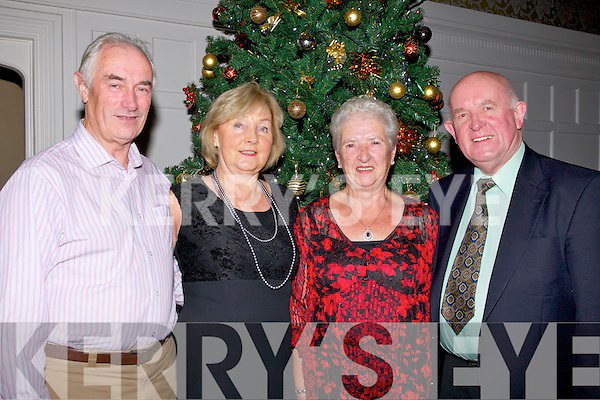 SUPPORTING: Denis and Betty O'Connor (Abbeydorney) and Nancy Daly (Aradgh) and Pat Sheahan (New Castlewest) who supported the 2nd Annual Kerry Hospice Palliative Care dance in The Earl of Desmond Hotel, Tralee on Friday night. .........