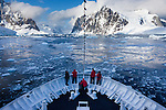 Arriving at the Antarctic Peninsula, Antarctica