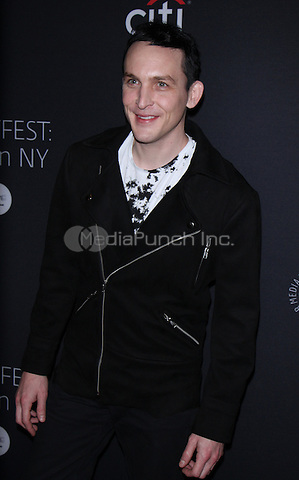 NEW YORK, NY-October 19:Robin Lord Taylor at PaleyFest New York presents Gotham at the Paley Center for Media in New York.October 19, 2016. Credit:RW/MediaPunch