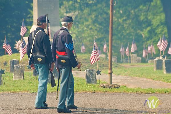 Wildwood Cemetery on Memorial Day.
