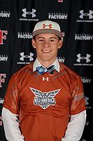 Booga de la Garza during the Under Armour All-America Tournament powered by Baseball Factory on January 17, 2020 at Sloan Park in Mesa, Arizona.  (Mike Janes/Four Seam Images)