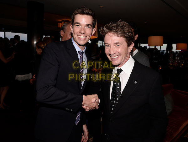 BEVERLY HILLS, CA - JULY 20: John Mulaney, left, and Martin Short attend the FOX 2014 Summer TCA All Star Party at Soho House on July 20, 2014 in Beverly Hills, California. <br /> CAP/MPI/DSPG<br /> &copy;DSPG/MediaPunch/Capital Pictures
