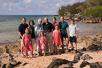 Geoff Rohrer family at Black Bay