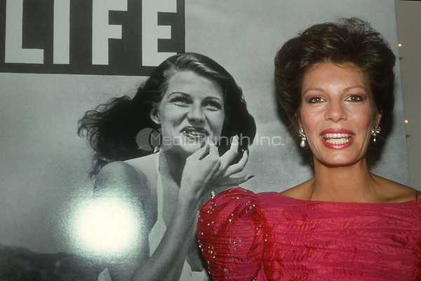 #Yasmin Khan 1985<br /> (Mom Rita Hayworth on cover of LIFE)<br /> Photo By Adam Scull/PHOTOlink.net / MediaPunch