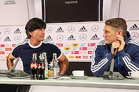 24.03.2015: Pressekonferenz der Nationalmannschaft