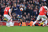 Tomas Soucek of West Ham United during Arsenal vs West Ham United, Premier League Football at the Emirates Stadium on 7th March 2020