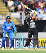 8th February 2019, Eden Park, Auckland, New Zealand;  Colin de Grandhomme. New Zealand v India in the Twenty20 International cricket, 2nd T20.