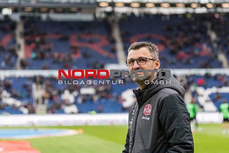09.02.2019, HDI Arena, Hannover, GER, 1.FBL, Hannover 96 vs 1. FC Nuernberg<br /> <br /> DFL REGULATIONS PROHIBIT ANY USE OF PHOTOGRAPHS AS IMAGE SEQUENCES AND/OR QUASI-VIDEO.<br /> <br /> im Bild / picture shows<br /> Michael K&ouml;llner / Koellner (Trainer 1. FC Nuernberg), <br /> <br /> Foto &copy; nordphoto / Ewert